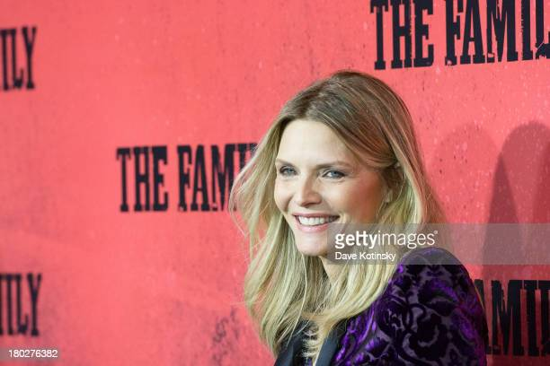 Michelle Pfeiffer attends 'The Family' World Premiere at AMC Lincoln Square Theater on September 10 2013 in New York City
