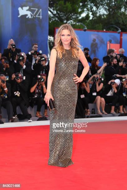 Michelle Pfeiffer attends the Gala Screening and World Premiere of 'mother' during the 74th Venice Film Festival at Sala Grande on September 5 2017...