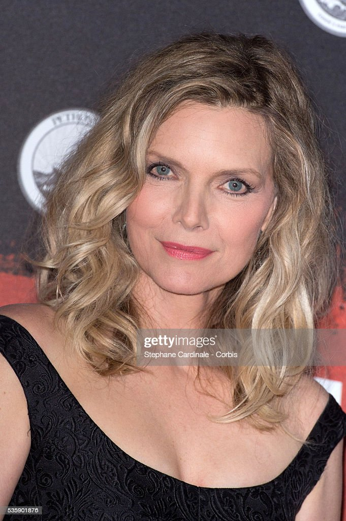 Michelle Pfeiffer attends the 'Malavita' premiere at Europacorp Cinemas at Aeroville Shopping Center, in Roissy-en-France, France.