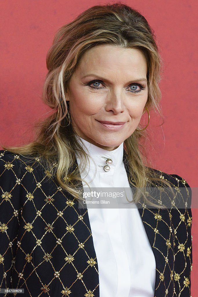 Michelle Pfeiffer attends the 'Malavita' premiere at Kino in der Kulturbrauerei on October 15, 2013 in Berlin, Germany.