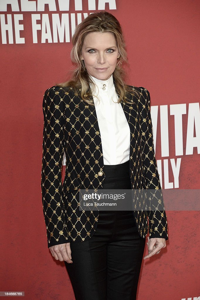 Michelle Pfeiffer attends the 'Malavita - The Family' Germany Premiere at Kino in der Kulturbrauerei on October 15, 2013 in Berlin, Germany.