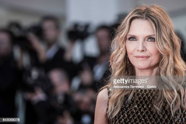 Michelle Pfeiffer attends the 'mother' screening during the 74th Venice Film Festival at Sala Grande on September 5 2017 in Venice Italy
