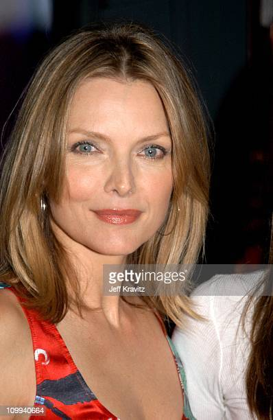 Michelle Pfeiffer during Nickelodeon's 16th Annual Kids' Choice Awards 2003 Backstage at Barker Hangar in Santa Monica CA United States