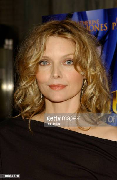 Michelle Pfeiffer during 'Sinbad Legend of the Seven Seas' New York Screening at Beekman Theater in New York City New York United States