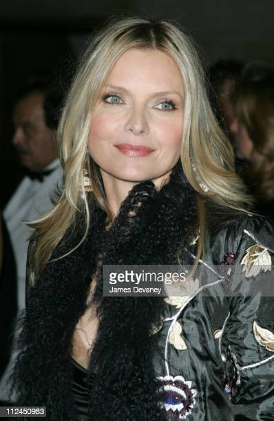 Michelle Pfeiffer during The Fashion Group International Presents The 21st Annual Night of Stars at Cipriani 42nd Street in New York City New York...
