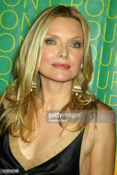 Michelle Pfeiffer during The Fashion Group International's 21st Annual Night of Stars at Cipriani 42nd Street in New York City New York United States