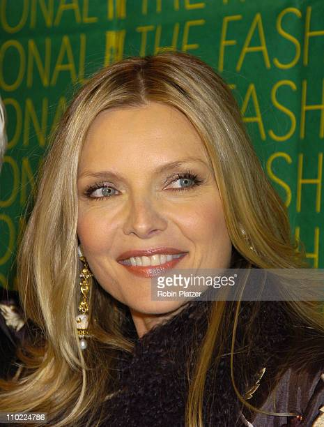 Michelle Pfeiffer during The Fashion Group International's 21st Annual Night of Stars Outside Arrivals at Ciprianis in New York City New York United...
