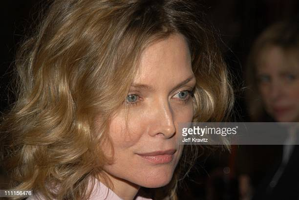 Michelle Pfeiffer during Women in Film Luncheon Honoring Martin Scorsese at Spago in Beverly Hills CA United States