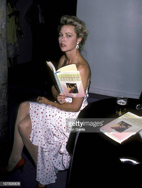 Michelle Phillips during Michelle Phillips' 'California Dreamin The True Story of the Mamas and the Papas' Book Party at Area in New York New York...