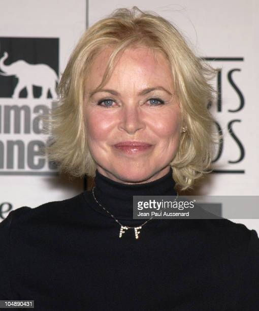 Michelle Phillips during The 17th Annual Genesis Awards Pressroom at The Beverly Hilton in Beverly Hills California United States