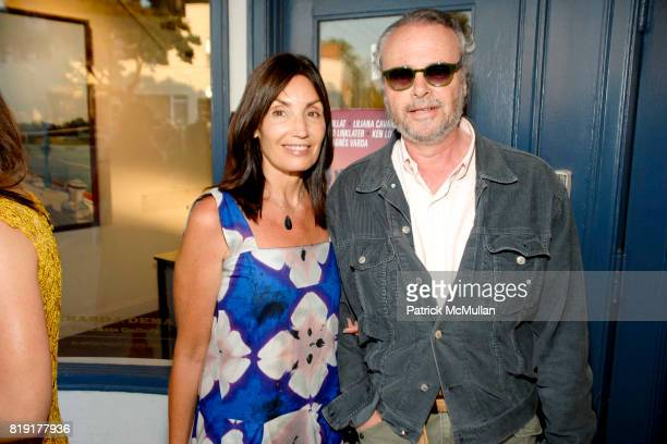 Michelle Pietra and John Cohen attend Hamptons Screening of 'GREAT DIRECTORS' at Sag Harbor Cinema on July 5 2010 in Sag Harbor NY