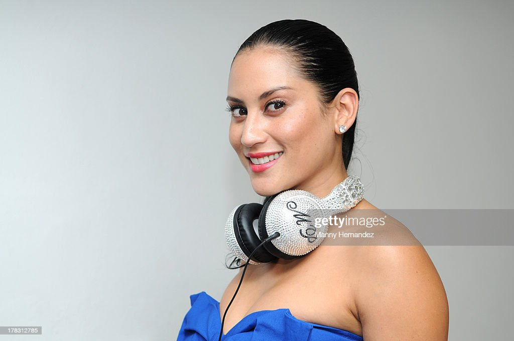 Michelle Pooch attends the CIROC Amaretto Launch Event at Dream Hotel South Beach on August 27, 2013 in Miami, Florida.