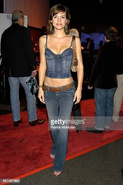 Michelle Ray Smith attends A Night of Jeans and Gems Hosted by the National Hemophilia Foundation at Fashion Institute of Technology Grand Ballroom...