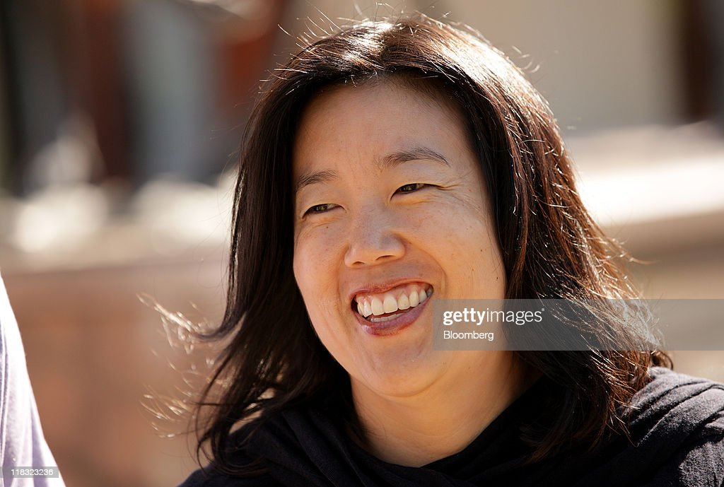 <a gi-track='captionPersonalityLinkClicked' href=/galleries/search?phrase=Michelle+Rhee&family=editorial&specificpeople=6520372 ng-click='$event.stopPropagation()'>Michelle Rhee</a>, former chancellor of the Washington D.C. public school system, leaves the morning session in Sun Valley, Idaho, U.S., on Wednesday, July 6, 2011. Media executives gather at Allen & Co.'s Sun Valley conference this week looking to shed assets such as the Hulu LLC video website and G4 game channel amid a declining global stock market and slowing economic growth. Photographer: Matthew Staver/Bloomberg via Getty Images