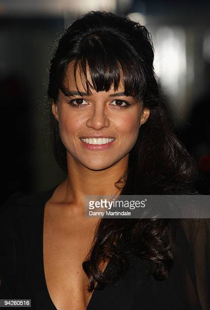 Michelle Rodrguez attends the World Premiere of Avatar at Odeon Leicester Square on December 10 2009 in London England