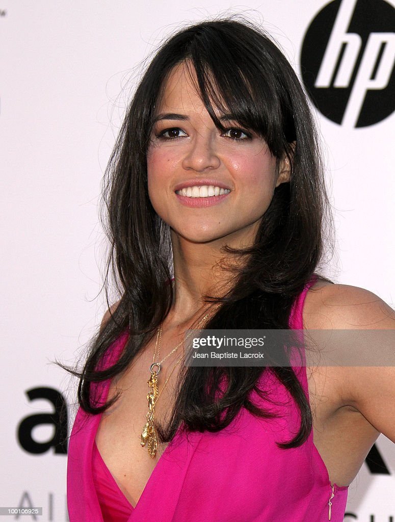 Michelle Rodriguez arrives at amfAR's Cinema Against AIDS 2010 benefit gala at the Hotel du Cap on May 20, 2010 in Cannes, France.
