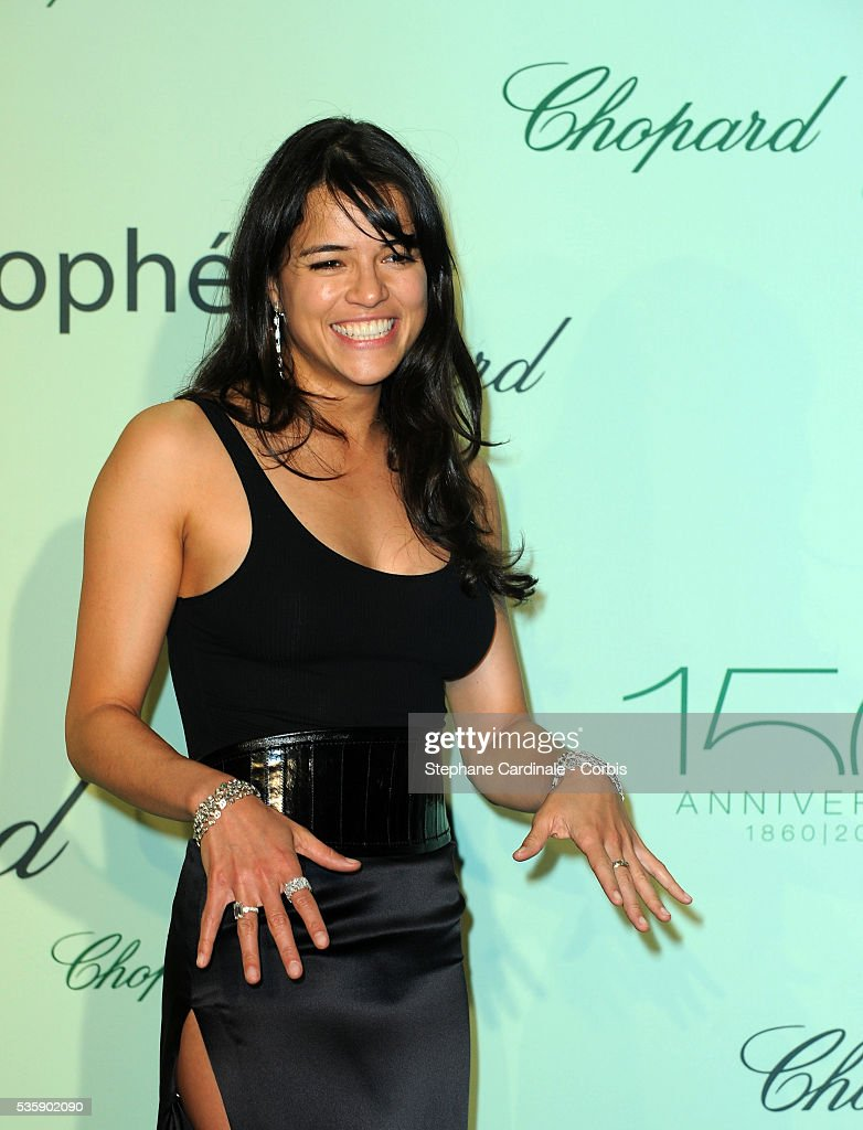 Michelle Rodriguez at the Chopard Trophy during the 63rd Cannes International Film Festival.