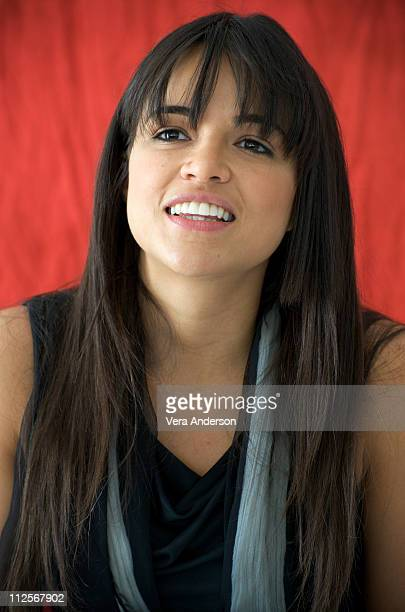 Michelle Rodriguez at the 'Fast Furious' press conference at the Arclight Theater on March 13 2009 in Hollywood California
