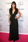 Michelle Rodriguez attends the Lancome 80th Anniversary Party as part of Paris Fashion Week Haute Couture Fall/Winter 2015/2016 on July 7 2015 in...