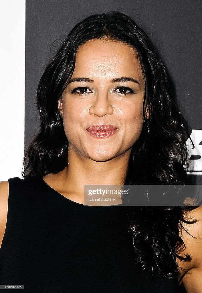 <a gi-track='captionPersonalityLinkClicked' href=/galleries/search?phrase=Michelle+Rodriguez&family=editorial&specificpeople=206182 ng-click='$event.stopPropagation()'>Michelle Rodriguez</a> attends the 'Turbo' New York Premiere at AMC Loews Lincoln Square on July 9, 2013 in New York City.