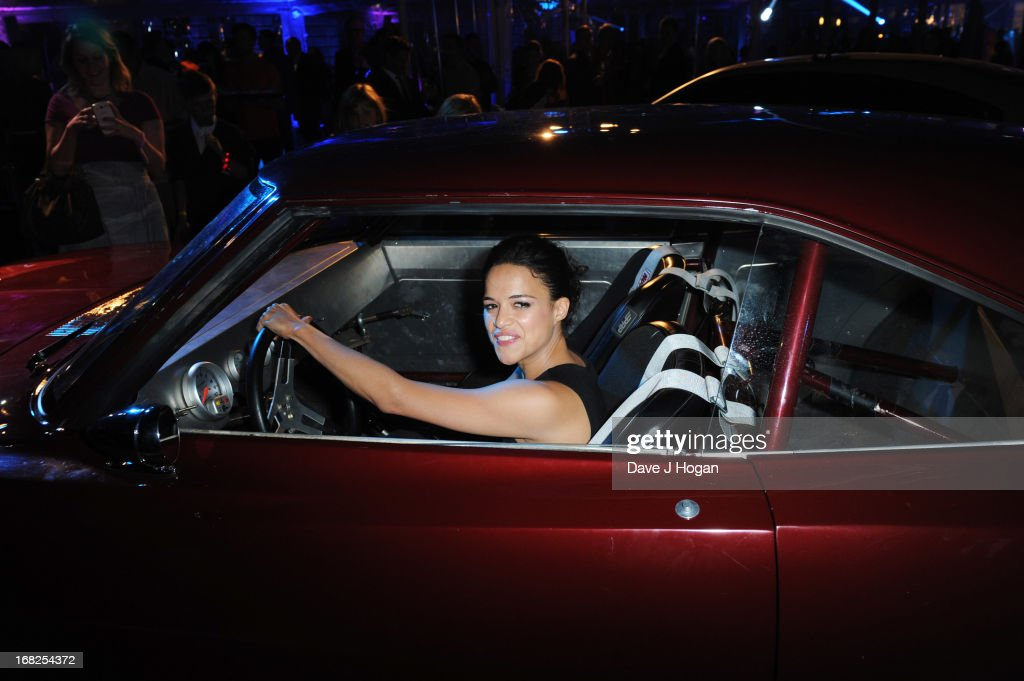 <a gi-track='captionPersonalityLinkClicked' href=/galleries/search?phrase=Michelle+Rodriguez&family=editorial&specificpeople=206182 ng-click='$event.stopPropagation()'>Michelle Rodriguez</a> attends the world premiere after party of 'Fast And Furious 6' at Somerset House on May 7, 2013 in London, England.