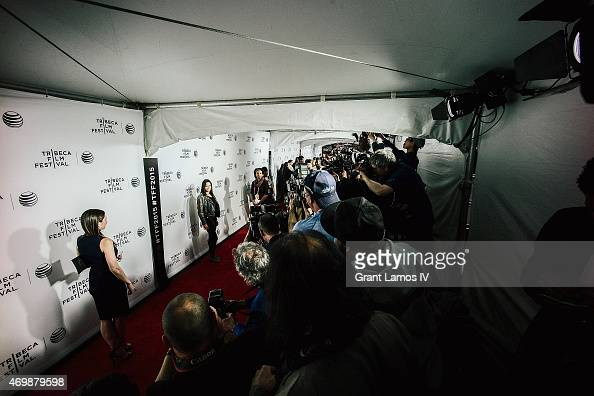 Michelle Rodriguez attends the world premiere of 'Live From New York' during the 2015 Tribeca Film Festival at the Beacon Theatre on April 15 2015 in...