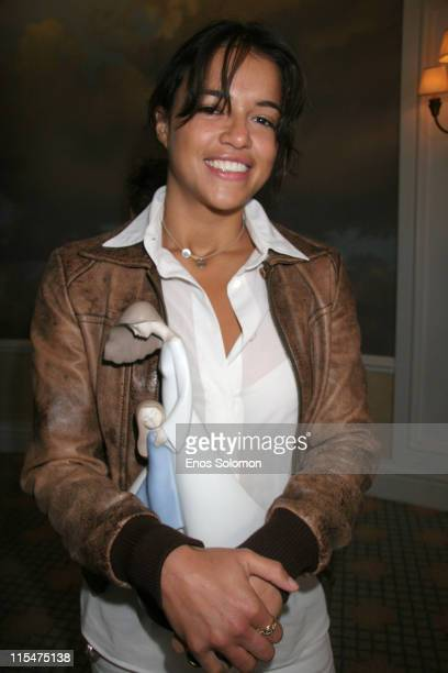 Michelle Rodriguez during A Place Called Home 'Girlz In The Hood' Women Of Achievement Awards Luncheon June 6 2007 in Beverly Hills California United...