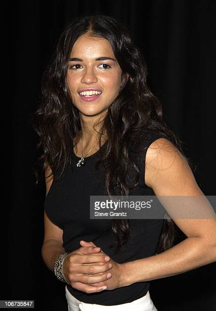 Michelle Rodriguez during Fulfillment Fund Honors Local Students and Teachers at the 2003 'Achievement Awards' at Kodak Theatre in Hollywood...