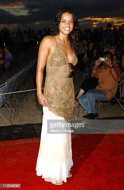 Michelle Rodriguez during 'Lost' Season 2 Premiere Arrivals in Waikiki Hawaii United States