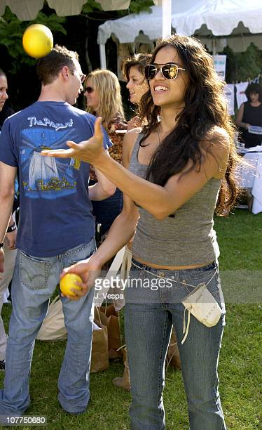 Michelle Rodriguez during W Magazine and Guess Hollywood Yard Sale to Benefit the Enviromental Media Assoc at Private Home in Brentwood California...