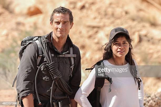 GRYLLS 'Michelle Rodriguez' Episode 205 Pictured Bear Grylls Michelle Rodriguez
