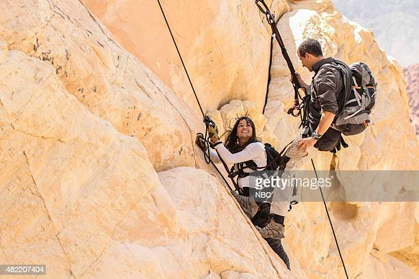 GRYLLS 'Michelle Rodriguez' Episode 205 Pictured Michelle Rodriguez Bear Grylls