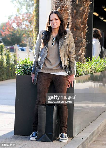 Michelle Rodriguez is seen on December 19 2016 in Los Angeles California