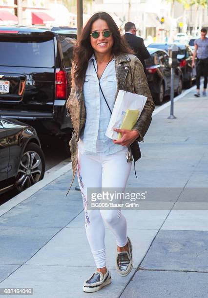 Michelle Rodriguez is seen on May 12 2017 in Los Angeles California
