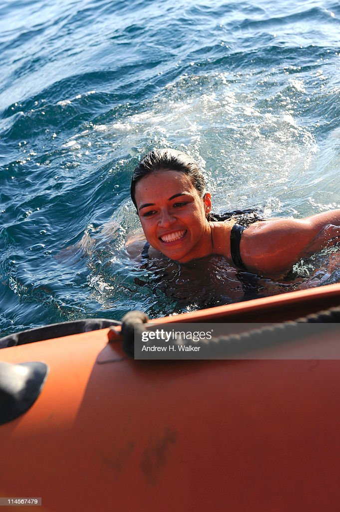 Michelle Rodriguez visits The Sea Shepard's Steve Irwin Vessel during The 64th Annual Cannes Film Festival on May 20, 2011 in Cannes Harbor, France.