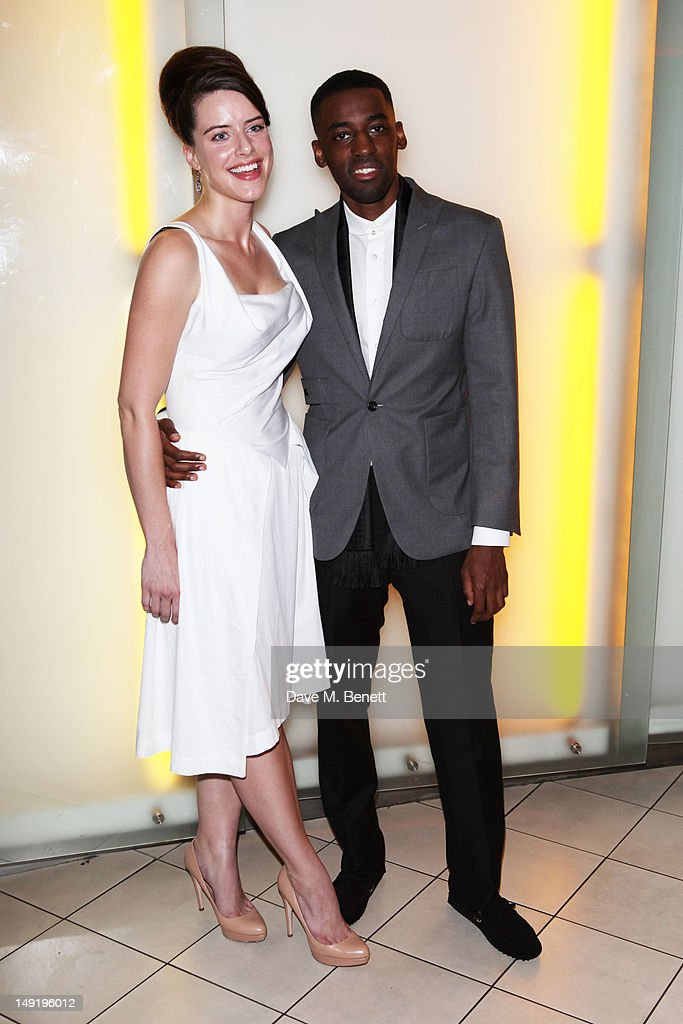 <a gi-track='captionPersonalityLinkClicked' href=/galleries/search?phrase=Michelle+Ryan&family=editorial&specificpeople=211201 ng-click='$event.stopPropagation()'>Michelle Ryan</a> and Ashley Bashy Thomas attend 'The Man Inside' UK film premiere at the Vue Leicester Square on July 24, 2012 in London, England.