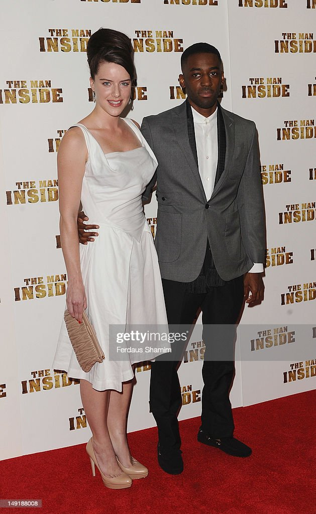 <a gi-track='captionPersonalityLinkClicked' href=/galleries/search?phrase=Michelle+Ryan&family=editorial&specificpeople=211201 ng-click='$event.stopPropagation()'>Michelle Ryan</a> and Ashley Bashy Thomas attend the UK premiere of The Man Inside at Vue Leicester Square on July 24, 2012 in London, England.