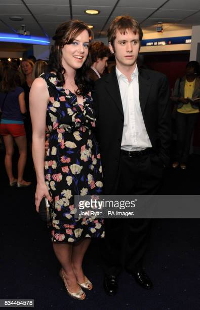 Michelle Ryan and Sean Biggerstaff arrive for the VIP Screening of Cashback directed by Sean Ellis at the Odeon Covent Garden in central London