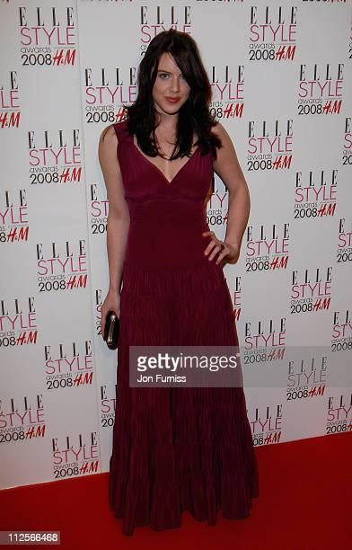 Michelle Ryan arrives at the Elle Style Awards 2008 at The Westway on February 12 2008 in London England