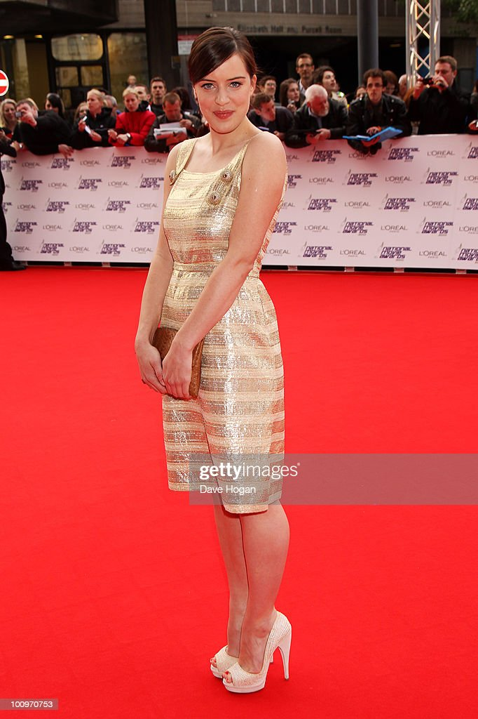 Michelle Ryan arrives at The National Movie Awards 2010 held at The Royal Festival Hall on May 26 2010 in London England