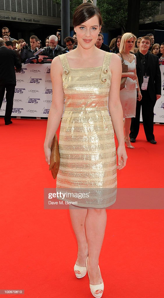 Michelle Ryan arrives at the National Movie Awards at the Royal Festival Hall on May 26 2010 in London England