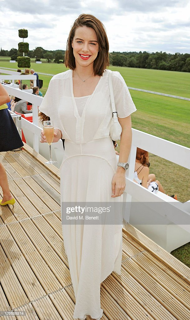 Michelle Ryan attends day 2 of the Audi Polo Challenge at Coworth Park Polo Club on August 4, 2013 in Ascot, England.