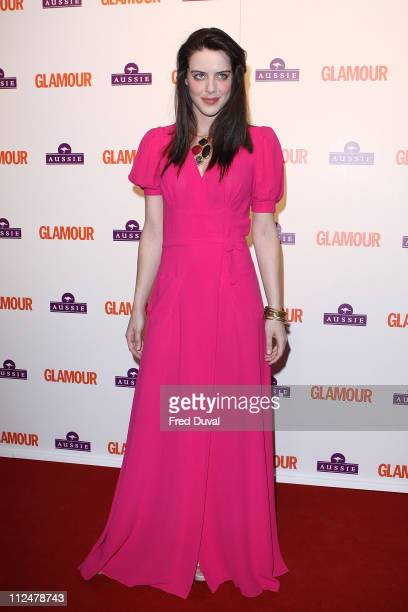Michelle Ryan attends 'Glamour Women of the Year Awards' at Berkeley Square Gardens on June 2 2009 in London England