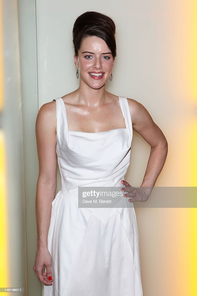 Michelle Ryan attends 'The Man Inside' UK film premiere at the Vue Leicester Square on July 24, 2012 in London, England.