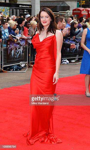 Michelle Ryan attends the World Premiere of 421 at Empire Leicester Square on May 25 2010 in London England