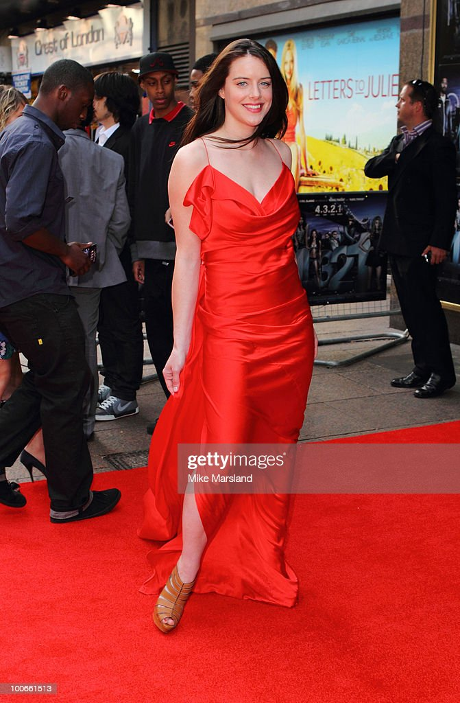 Michelle Ryan attends the World Premiere of 4,3,2,1 at Empire Leicester Square on May 25, 2010 in London, England.