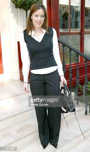Michelle Ryan during 2005 InStyle Shopping Awards Winners Lunch at Morton's in London Great Britain