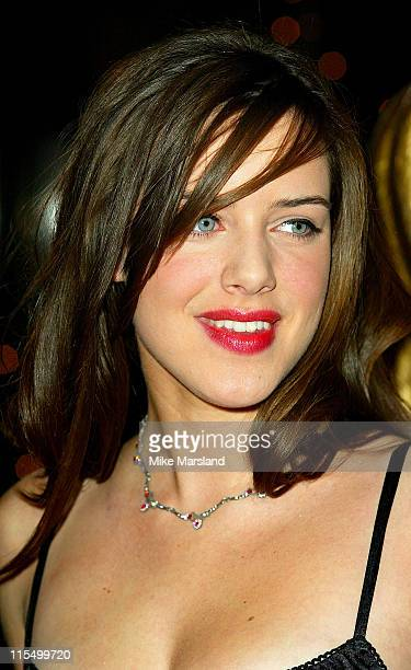 Michelle Ryan during BAFTA Children's Film and Television Awards Red Carpet at London Park Lane Hilton in London Great Britain