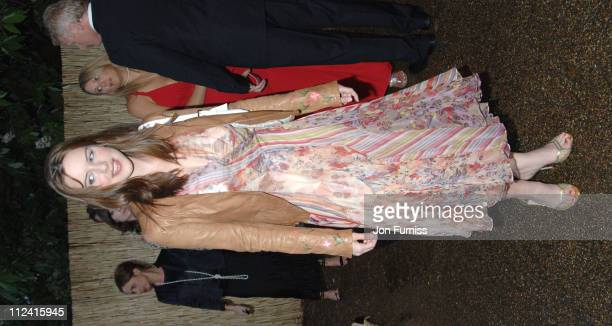 Michelle Ryan during The Serpentine Gallery Summer Party Cohosted By Jimmy Choo Inside Arrivals at The Serpentine Gallery in London Great Britain
