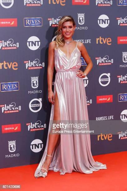 Michelle Salas attends Platino Awards 2017 at La Caja Magica on July 22 2017 in Madrid Spain